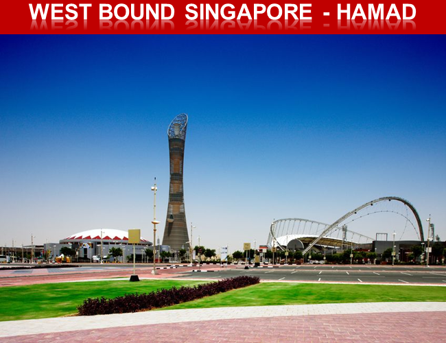"""""""NEW"""" DIRECT LCL SERVICE SINGAPORE – HAMAD"""